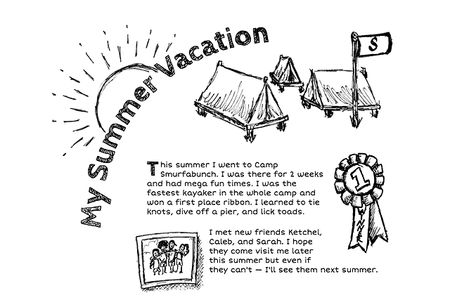 My Summer Vacation (Doodles)