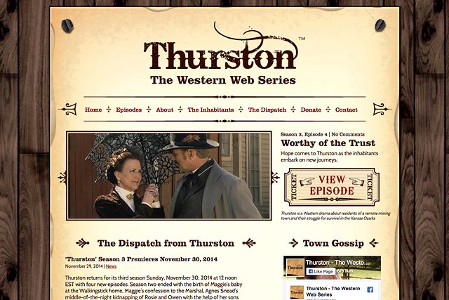 Thurston: The Western Web Series